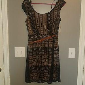 Black lace dress size 9